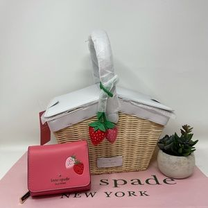 Kate Spade Picnic in the Park Basket and Wallet